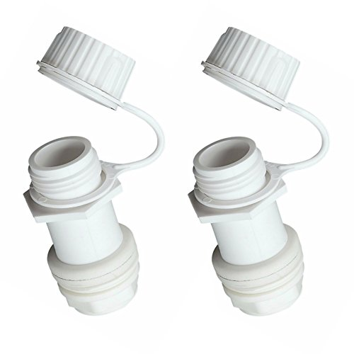 2 Pack Igloo Replacement Threaded Drain