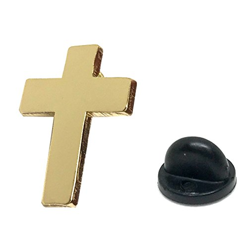 Chaplain Gold Finish Cross - Religious Christian Latin Ornate Official Lapel - Dior Sunglasses Baby