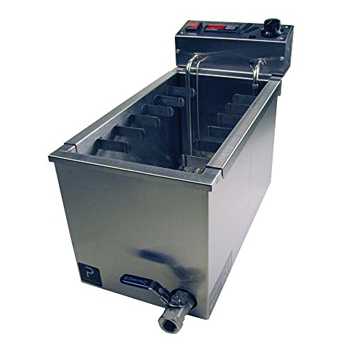 Paragon Mighty Corn Dog Fryer Machine for Professional Concessionaires Requiring Commercial Quality & Construction 37.5 Pound Oil Capacity 3000 Watts Electric 220 Volt Requires 6-15 Receptacle by Paragon - Manufactured Fun