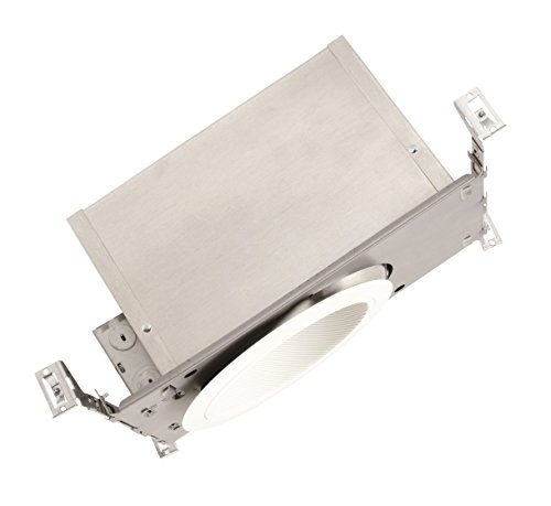 NICOR Lighting 6-Inch Super Slope Airtight Recessed New Construction Housing (17025SSA) (Recessed Slope)