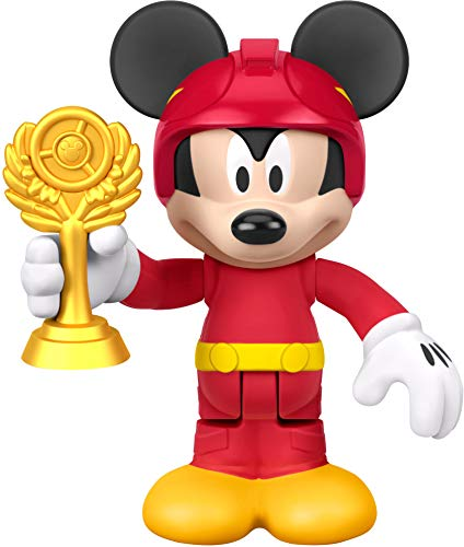 Fisher-Price Disney Mickey & The Roadster Racers, Racer Mickey (Trophy Figure Gold)