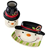 Grasslands Road Sweet Tidings Snowman Milk and Cookie Gift Set