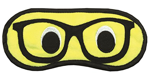 Best Sleep Mask - Nerd Eyes Emoji