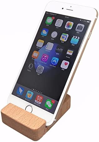 iPhone 7 7 Plus Soporte Dock, jexon (TM) Madera Natural teléfono ...
