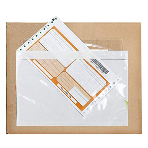 - Acescen Clear Adhesive Top Loading Packing List 6