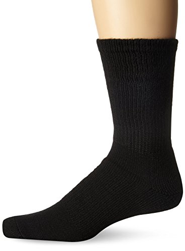 Thorlos Padded Walking Crew Sock Black L