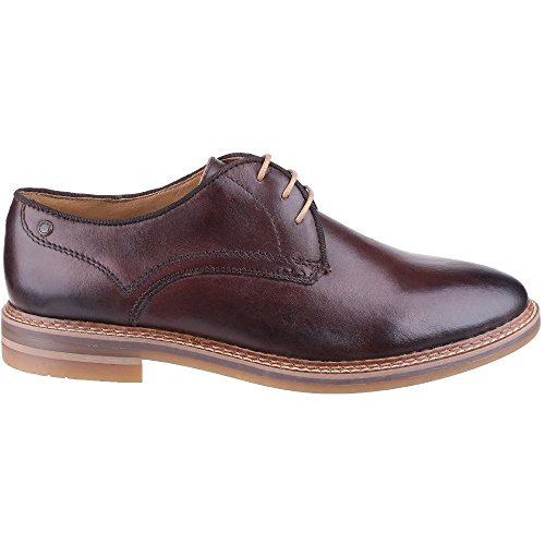 Base London Mens Blake Leather Shoes Brown
