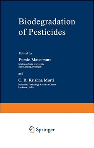 Book Biodegradation of Pesticides