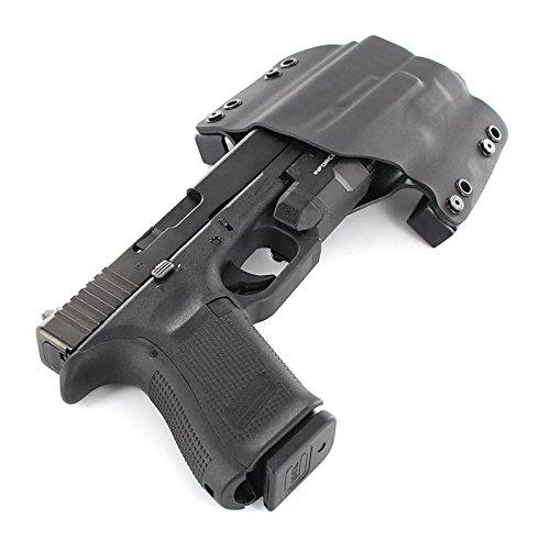 OWB Holster - Inforce APLc (Compact) - Black (Left-Hand, FN FNX 45 Tactical)