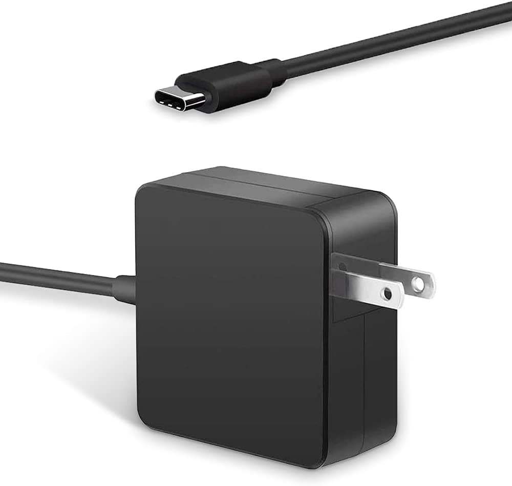 65W/61W 1.5A Notebook Tablet PC Type C Power Adapter for ASUS,HP,Acer,Apple MacBook,Huawei Matebook,Redimibook,and Any Other Laptops or Smart Phones with The USB C Interface