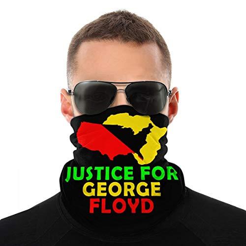 Justice for Geo-Rge Flo-Yd Men Women Neck Warmer Face Mask Bandanas Hat