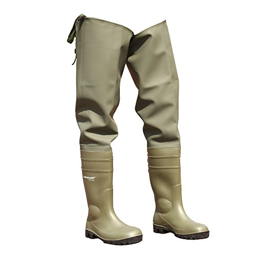 Dunlop Thigh Wader 142 Vp Pp / Mens Boots (7.5 Us) (verde)