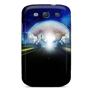 Galaxy S3 Case Cover With Shock Absorbent Protective BwXmzTl3539xYAlK Case