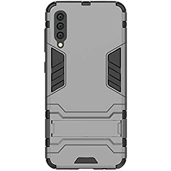 Shock Proof Cover Dual Layer Hybrid Armor Combo Protective Hard Case with Kickstand for Huawei P20 Lite 2018 5.84 Blue Black SsHhUu Huawei P20 Lite Case