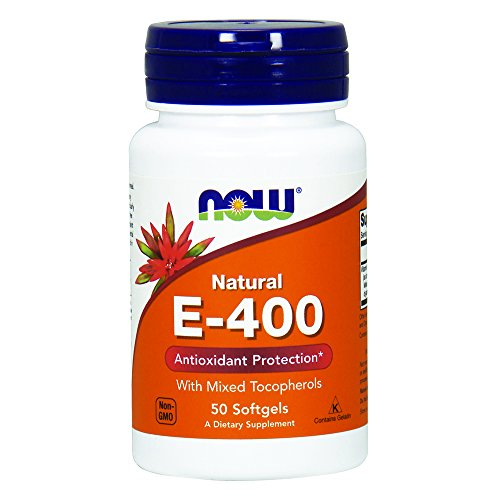 NOW E 400 Mixed Tocopherols,50 Softgels