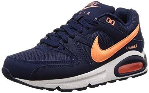 Nike Air Max Command, Sneakers Basses Femme Blau (Midnight Navy/Sunset Glow 488)