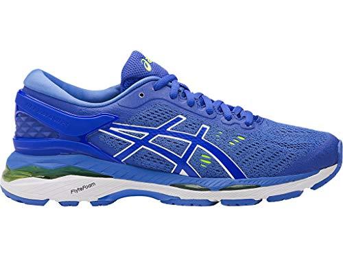 ASICS Womens Gel-Kayano 24 Running Shoe, Purple/Regatta Blue/White, 8 Medium US