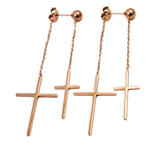 Double Cross Earrings - 7
