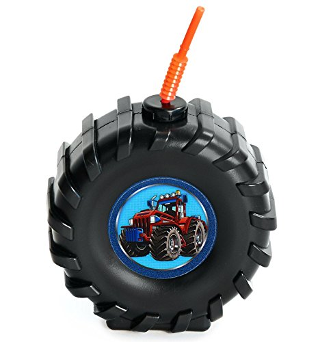 Farm Tractor Childrens Birthday Party Supplies - Truck Ti...