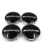 Mercedes AMG wheel center cap set