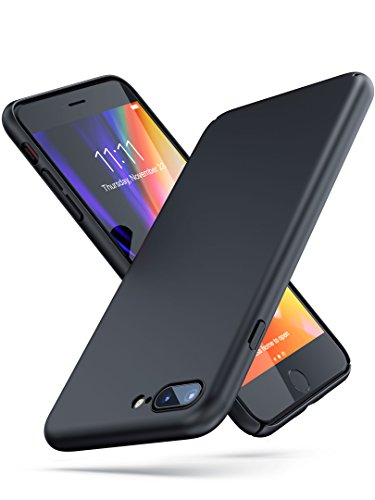 PowerBear Thin iPhone 7 Plus Case/Thin iPhone 8 Plus Case | Ultra Thin Sleek and Slim Fit | Scratch and Scuff Resistant Durable Soft Touch Finish | for The Apple iPhone 7+/ 8+ [24 Month Warranty]