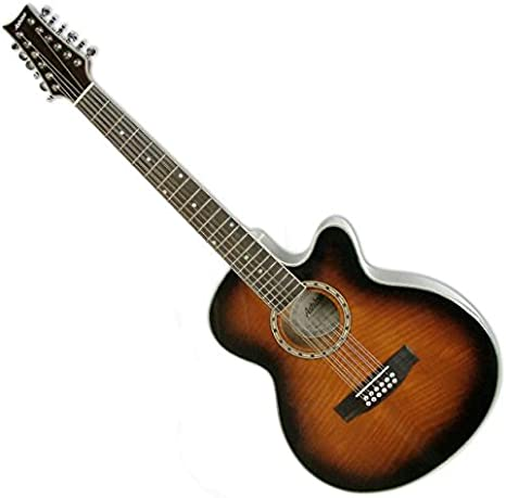 ASHTON SL29/12CEQTSB - Guitarra electroacústica (pastillas ...