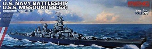 MNGPS004 1:700 Meng USS Missouri BB-63 [MODEL BUILDING KIT]