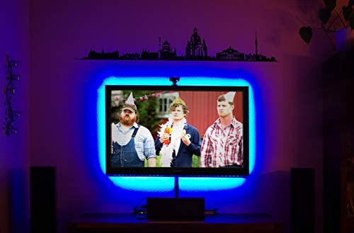 RGB LED TV Fondo Juego para 26 – 50 pulgadas (50 x 40 cm, 30 LED/M ...