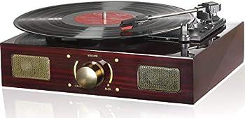 LuguLake Vinyl Record Player Turntable