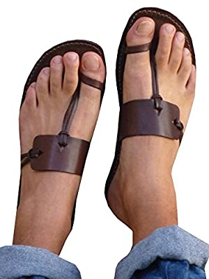 Meilidress Womens Clip Toe Flat Summer Sandals Casual Solid Flip Flops Shoes Slippers