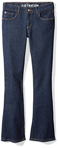 Kid Nation Girls Boot Cut Jean Size 6 by Kid Nation