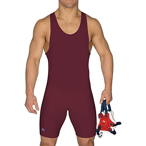 Cliff Keen The Relentless Wrestling Singlet - SIZE: 3XS, COLOR: Maroon
