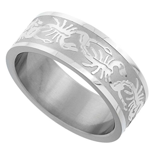 Surgical Stainless Scorpion Wedding Pattern product image
