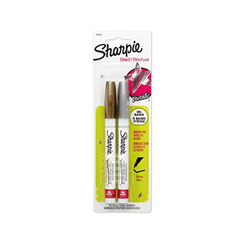 sharpie-oil-based-paint-markers-extra-fine-point-metallic-colors-2-count
