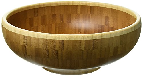 Totally Bamboo Classic Bamboo Serving Bowl, 10