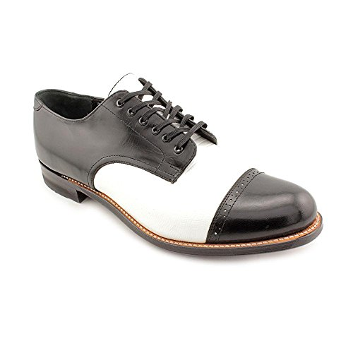 Stacy Adams Mens Madison-70 Oxford Black/White AILwJ
