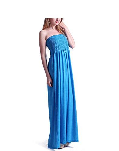 Beautiful Strapless Long Dress - 8