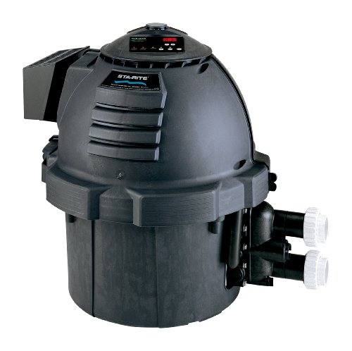 Sta-Rite 460763 Max-E-Therm Pool and Spa Heater 0-2999 Altitude, ASME Natural Gas, Black, - Manifold Max E-therm