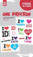 One Direction - Tattoo Sticker Pack 3