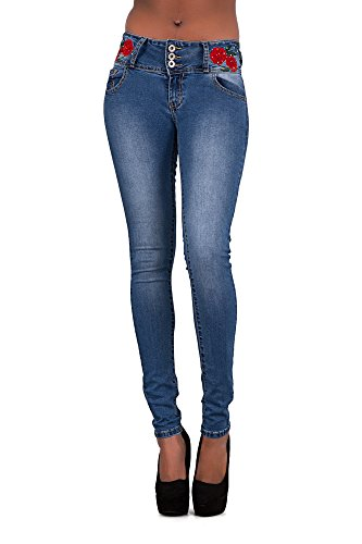 Lustychic Jeans Lustychic Donna Jeans Blue RXpWwvq