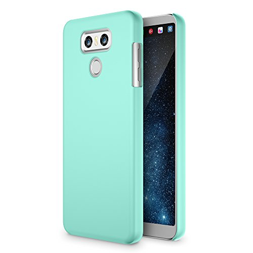 LG G6 Case, Maxboost mSnap Thin Cases [Perfect Fit] [Turquoise] EXTREME Smooth Surface with Anti-Slip Matte Coating for Excellent Grip Hard Protective PC Covers For LG G6 2017