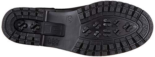 Tommy Hilfiger Damen TH Hardware Rubber Bootie Stiefeletten, Schwarz (Black 990), 40 EU 4