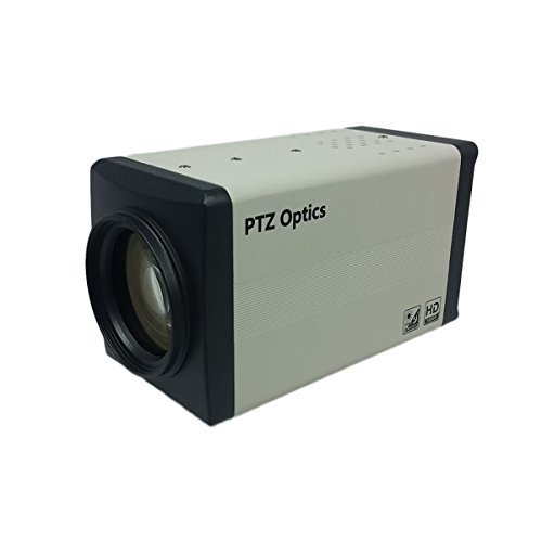 PTZOptics 20X ZCam 1080p Box Camera with HD-SDI and integral lens