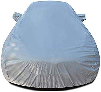 アウディA3、ヘビーデューティスクラッチ証拠耐久カーカバー、防水雨防塵自動車屋内屋外と互換性通気性の良いフルカーカバー、 (Color : Gray)