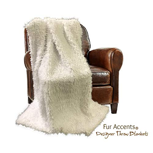 Fur Accents Baby Crib, Receiving Blanket, Binky, Babies Favorite Soft Cozy, Hand Made, Cuddle Soft Lamb Fleece Design, Blankie, Love, Baby Nappers USA (4'x5')