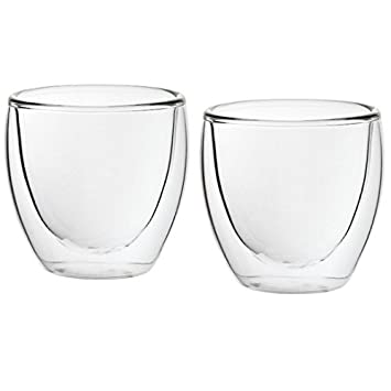 Kaffeeglas Tassen 6er Latte 230ml Macchiato Cappuccino Gläser Glas KFJlT13c