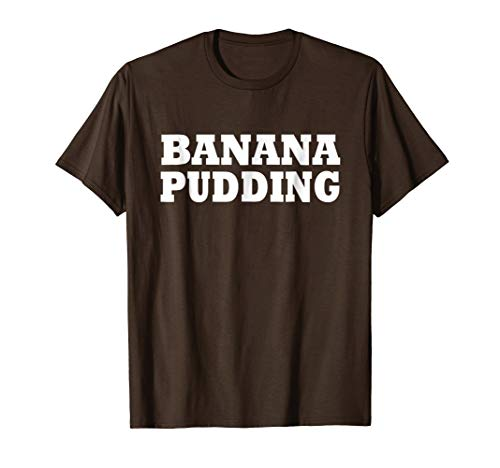 Banana Pudding Food Halloween Last Minute Costume Party -