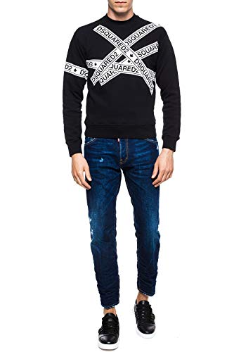 Cotone S74lb0445s30309470 Blu Uomo Jeans Dsquared2 UZqp0T