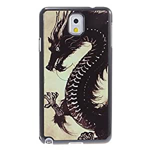 Dragon Pattern Aluminum&Plastic Hard Back Case Cover for Samsung Galaxy Note3 N9000
