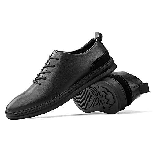Oxford la Informales Casuales shoes Zapatos otoño tamaño del Black Black Fang Top Oxford Low de Color EU e Invierno Zapatos Moda los Hombres Hombre 41 de de de Low 2018 top wdTxZq0